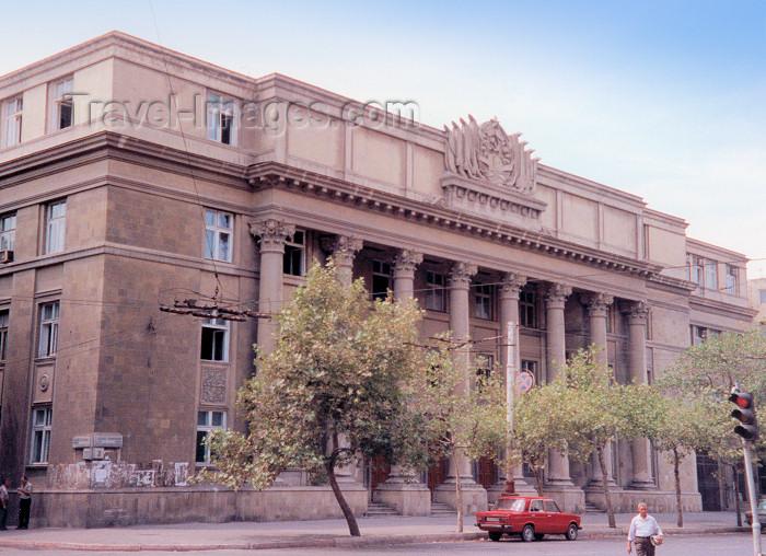 azer16: Azerbaijan - Baku: Soviet legacy - Shahriyar Cultural Club, built where St. Mary's Catholic church used to stand - photo by Mig - (c) Travel-Images.com - Stock Photography agency - Image Bank