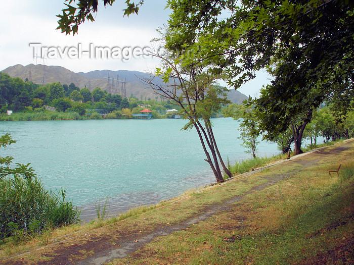 azer179: Mingechaur / Mingechavir, Azerbaijan - the Kura river  - photo by F.MacLachlan - (c) Travel-Images.com - Stock Photography agency - Image Bank