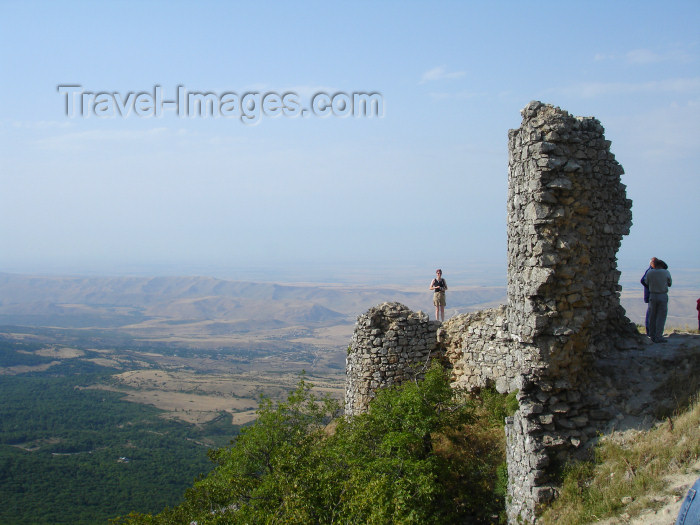 azer183: Chirag Gala / Ciraq Qala - Davachi rayon, Azerbaijan: view from the castle ruins - photo by F.MacLachlan - (c) Travel-Images.com - Stock Photography agency - Image Bank