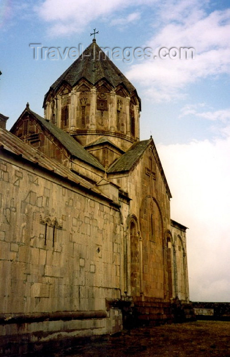 azer21: Nagorno Karabakh - Gandzasar: St. John's Monastery (photo by M.Torres) - (c) Travel-Images.com - Stock Photography agency - Image Bank