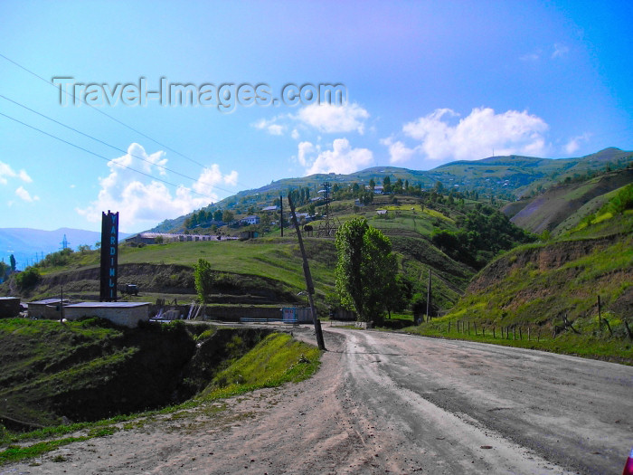 azer225: Azerbaijan - Yardimli: entering the town (photo by F.MacLachlan) - (c) Travel-Images.com - Stock Photography agency - Image Bank
