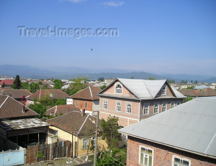 azer237: Azerbaijan - Lankaran / Lenkoran:  view across Lenkoran rooftops from the Qala hotel (photo by F.MacLachlan) - (c) Travel-Images.com - Stock Photography agency - Image Bank