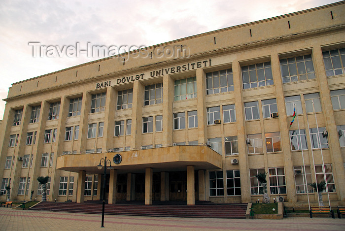 azer276: Azerbaijan - Baku: Baku State University - Baki Dovlat Universiteti - photo by Miguel Torres - (c) Travel-Images.com - Stock Photography agency - Image Bank