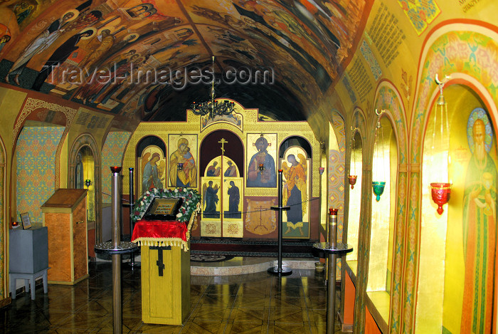 azer283: Azerbaijan - Baku: shrine of St Bartholomew the Apostle, the patron of Baku, under the Church of Archangel Michael - photo by Miguel Torres - (c) Travel-Images.com - Stock Photography agency - Image Bank