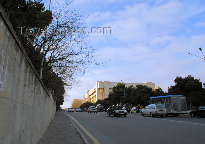 azer304: Azerbaijan - Baku: Azeri KGB, Ministry of Nacional Security - photo by M.Torres - (c) Travel-Images.com - Stock Photography agency - Image Bank