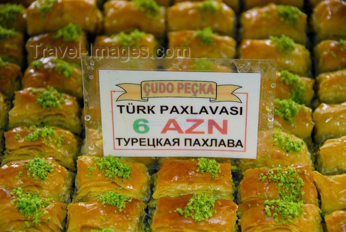 azer310: Azerbaijan - Baku: Turkish Baklava - Çudo Peçka bakery - photo by M.Torres - (c) Travel-Images.com - Stock Photography agency - Image Bank