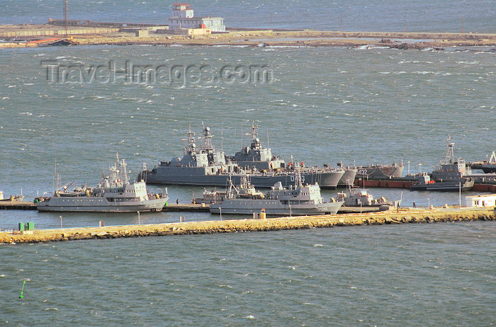 azer374: Azerbaijan - Baku: military harbour - Azerbaijan's navy - Caspian Flotilla - photo by M.Torres - (c) Travel-Images.com - Stock Photography agency - Image Bank