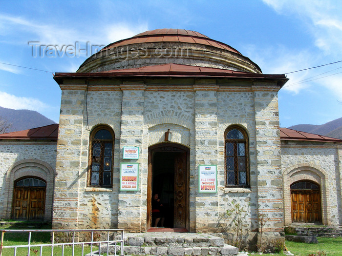 azer446: Sheki / Shaki - Azerbaijan: Albanian church - Museum of applied art - photo by N.Mahmudova - (c) Travel-Images.com - Stock Photography agency - Image Bank