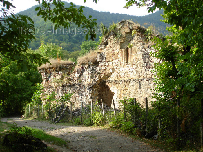 azer474: Azerbaijan - Lekit - Yeddi Kilisa - seven churches - a 12th century monastic complex - Albanian or Georgian, depending on the sources - photo by F.MacLachlan - (c) Travel-Images.com - Stock Photography agency - Image Bank