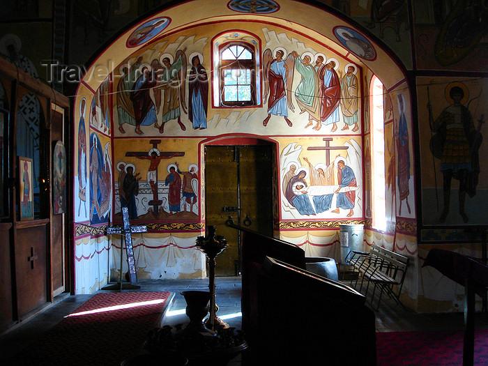 azer481: Azerbaijan - Qax - Georgian Church - interior - photo by F.MacLachlan - (c) Travel-Images.com - Stock Photography agency - Image Bank