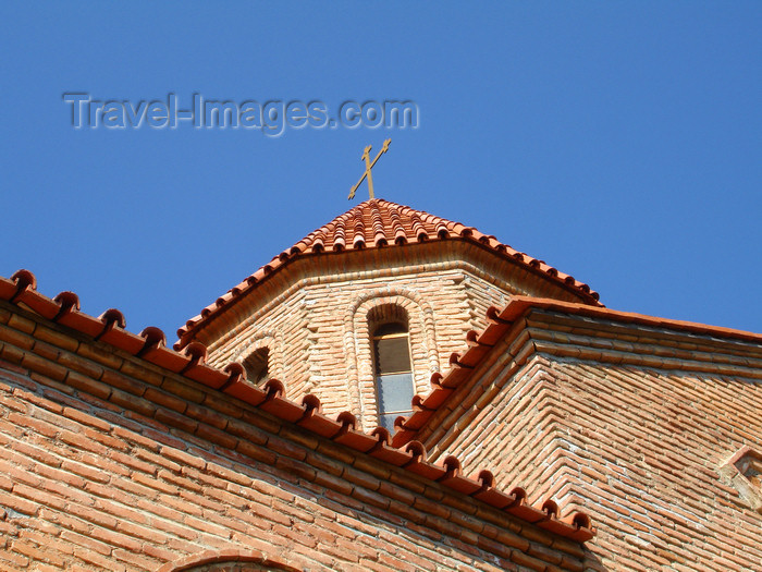 azer483: Azerbaijan - Qax rayon - Georgian Church above the old Qax Sheki Road - cross - photo by F.MacLachlan - (c) Travel-Images.com - Stock Photography agency - Image Bank