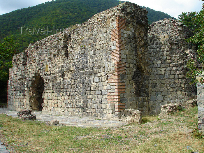 azer486: Azerbaijan - Qum - Kum - Albanian Church - Kum Basilica - 5th century - photo by F.MacLachlan - (c) Travel-Images.com - Stock Photography agency - Image Bank