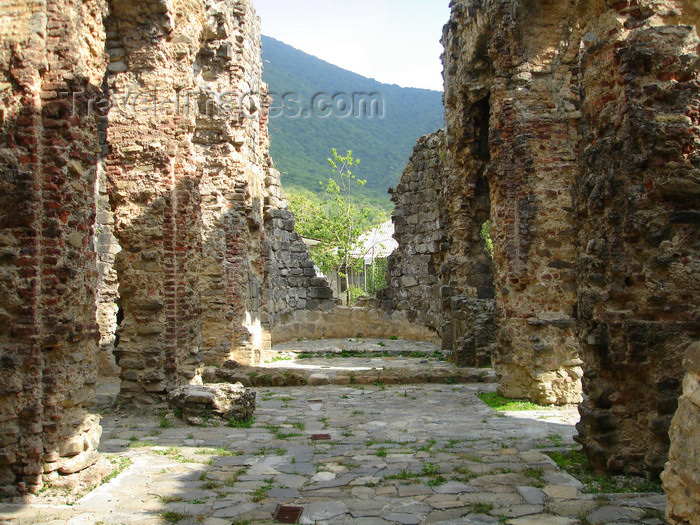 azer487: Azerbaijan - Qum - ruins of an Albanian Church - photo by F.MacLachlan - (c) Travel-Images.com - Stock Photography agency - Image Bank
