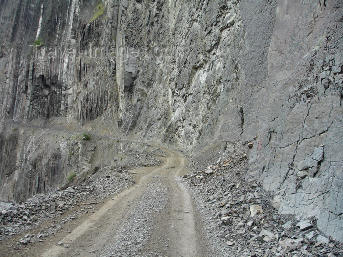azer495: Lahic / Lahij, Ismailly Rayon, Azerbaijan: main 'road' - photo by F.MacLachlan - (c) Travel-Images.com - Stock Photography agency - Image Bank