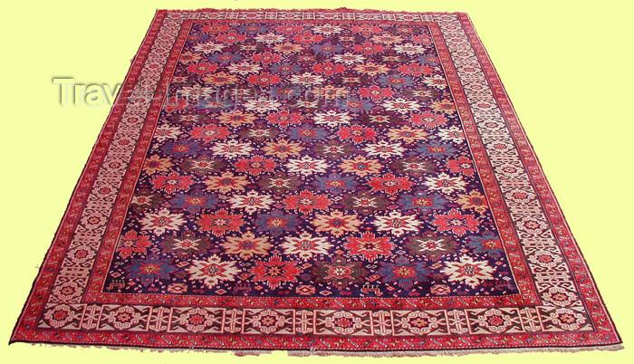 azerbaijan-carpets5: Azeri Carpet: Quba - Ugah (photo by Vugar Dadashov) - (c) Travel-Images.com - Stock Photography agency - Image Bank