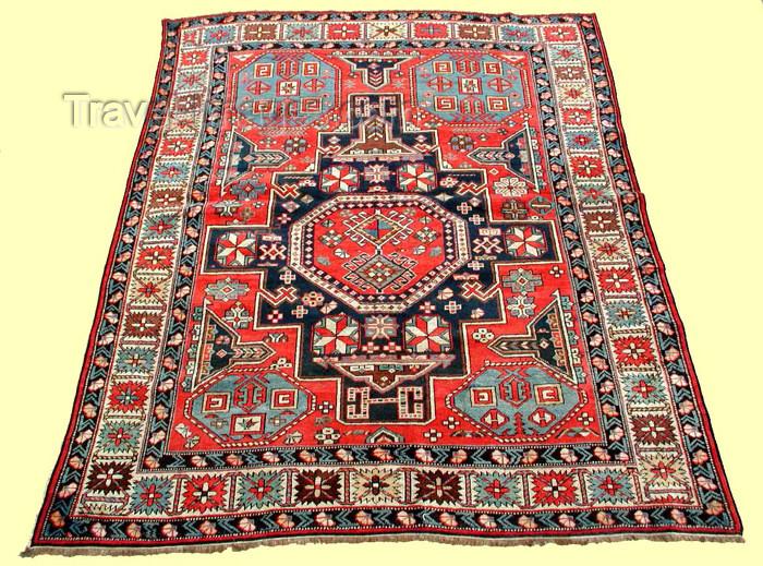 azerbaijan-carpets7: Azerbaijani Carpet - Teppiche,Tapisxo,Alfombras,tapis,Matta,Matto,tapetes: Quba - Qonaqkend (photo by Vugar Dadashov) - (c) Travel-Images.com - Stock Photography agency - Image Bank