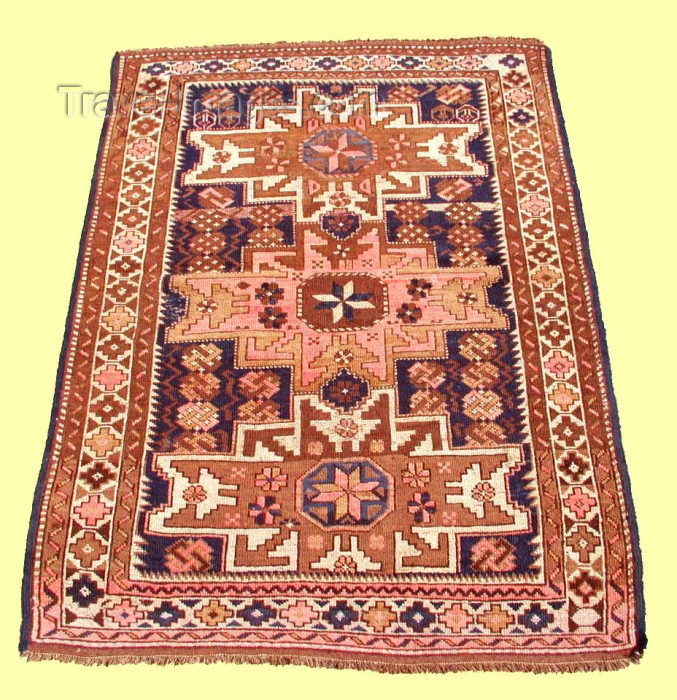 azerbaijan-carpets9: Azerbaijani Carpet: Quba - Zeyve (photo by Vugar Dadashov) - (c) Travel-Images.com - Stock Photography agency - Image Bank
