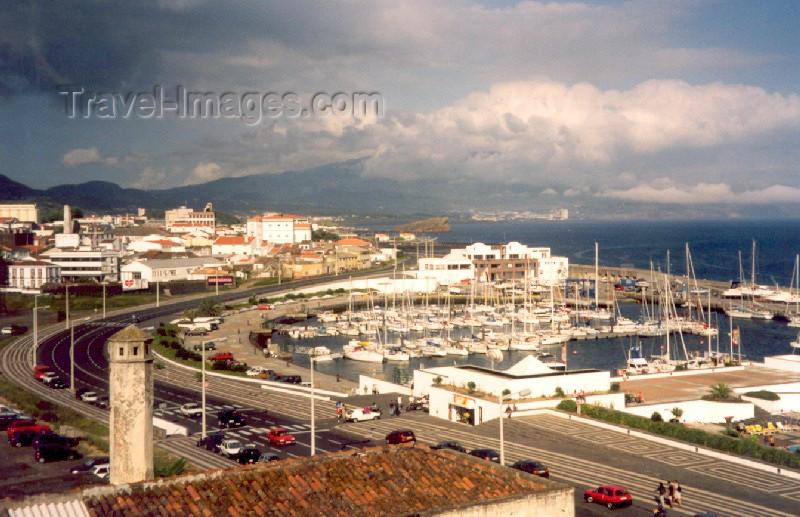 azores11: Azores - Ponta Delgada: yachts at the marina / iates na Marina - photo by M.Torres - (c) Travel-Images.com - Stock Photography agency - Image Bank