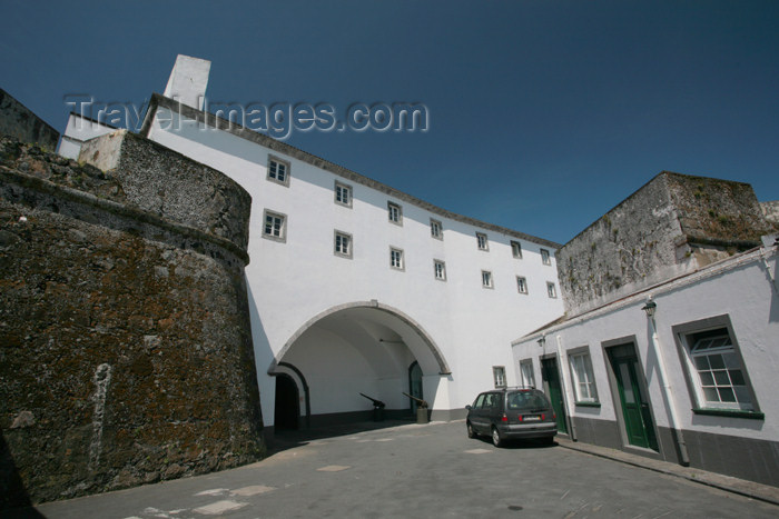 azores180: Azores / Açores - São Miguel - Ponta Delgada: St. Brás fort / forte de São Braz - photo by A.Stepanenko - (c) Travel-Images.com - Stock Photography agency - Image Bank