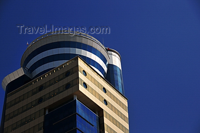 bahrain23: Manama, Bahrain: airport aesthetics - top of Trust tower - Diplomatic Area 317 - photo by M.Torres - (c) Travel-Images.com - Stock Photography agency - Image Bank