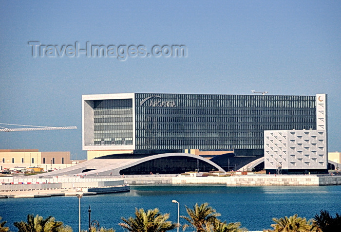 bahrain35: Manama, Bahrain: Arcapita Bank HQ - Bahrain Bay Project - former First Islamic Investment Bank - photo by M.Torres - (c) Travel-Images.com - Stock Photography agency - Image Bank