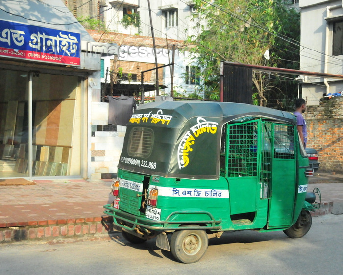 bangladesh5: Dakha / Dacca, Bangladesh: auto rickshaw are by the millions - locally called 'baby taxis' and more recently 'CNGs', as some use compressed natural gas - photo by M.Torres - (c) Travel-Images.com - Stock Photography agency - Image Bank
