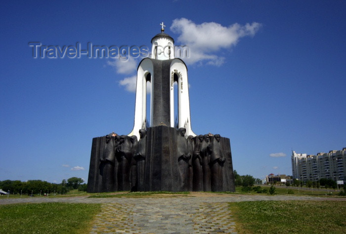 belarus29: Belarus - Minsk: Island of Tears - monument to the soldiers killed in the Afghanistan war (photo by A.Stepanenko) - (c) Travel-Images.com - Stock Photography agency - Image Bank