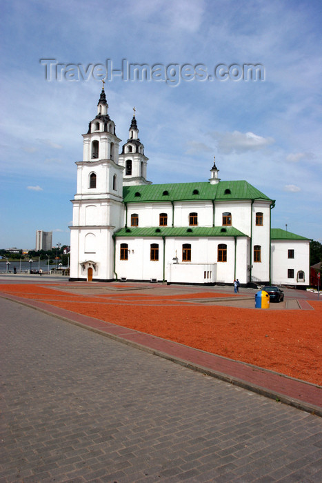 belarus41: Belarus - Minsk - Holy Gost Cathedral - side view - photo by A.Stepanenko - (c) Travel-Images.com - Stock Photography agency - Image Bank