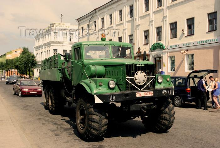 belarus58: Belarus - Mogilev - KRAZ support heavy truck - photo by A.Stepanenko - (c) Travel-Images.com - Stock Photography agency - Image Bank