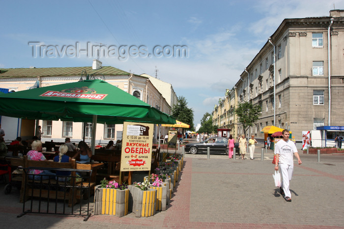 belarus63: Belarus - Mogilev - Leninskaya Street - photo by A.Stepanenko - (c) Travel-Images.com - Stock Photography agency - Image Bank