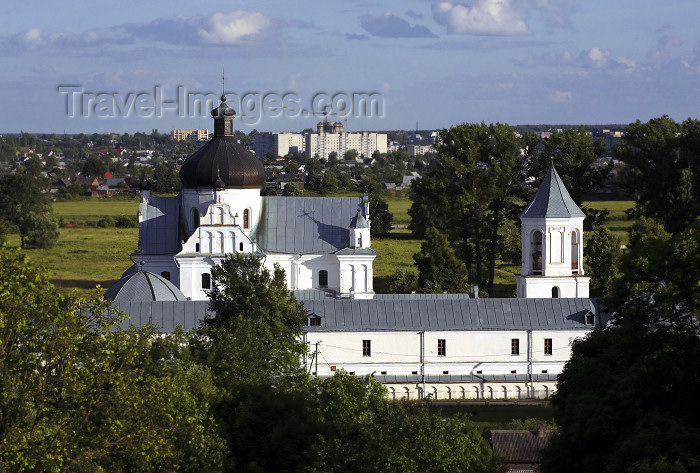 belarus72: Mogilev, Mahilyow Voblast, Belarus: Orthodox Monastery of St. Nicholas - Baroque style church and convent - photo by A.Dnieprowsky - (c) Travel-Images.com - Stock Photography agency - Image Bank