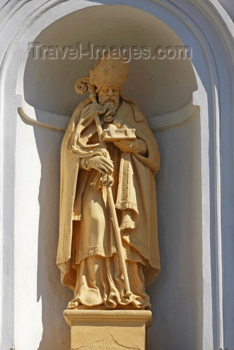 belarus92: Nesvizh / Nyasvizh, Minsk Voblast, Belarus: Saint Peter - niche at the Corpus Christi Catholic church - photo by A.Dnieprowsky - (c) Travel-Images.com - Stock Photography agency - Image Bank