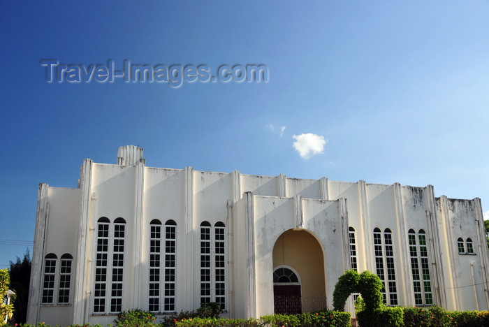 belize102: Belize City, Belize: Wesley Methodist Church - Albert St - photo by M.Torres - (c) Travel-Images.com - Stock Photography agency - Image Bank