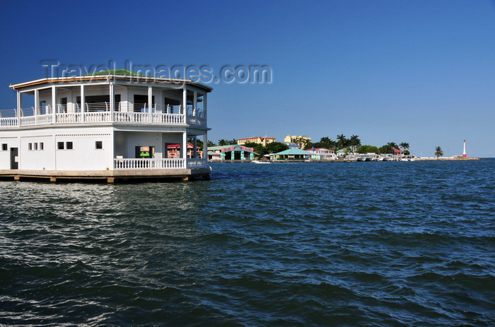 belize113: Belize City, Belize: yacht club house - north side of the city in the background - photo by M.Torres - (c) Travel-Images.com - Stock Photography agency - Image Bank