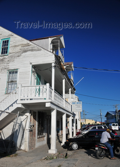 belize122: Belize City, Belize: Paslow Building - the Post Office - Northfront Street - Thomas Paslow was a 19th century Bayman who fought in the Battle of St. George's Caye - photo by M.Torres - (c) Travel-Images.com - Stock Photography agency - Image Bank
