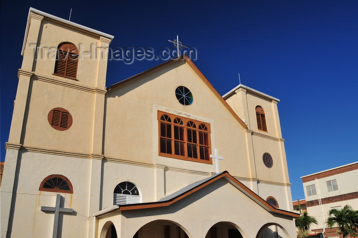 belize130: Belize City, Belize: Holy Redeemer Catholic Cathedral - N Front St. - photo by M.Torres - (c) Travel-Images.com - Stock Photography agency - Image Bank