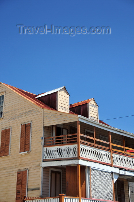 belize162: Belize City, Belize: old house on Regent st - photo by M.Torres - (c) Travel-Images.com - Stock Photography agency - Image Bank