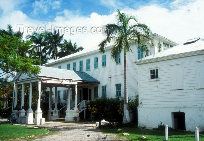 belize19: Belize city, Belize: Government House - now the House of Culture Museum - photo by D.Forman - (c) Travel-Images.com - Stock Photography agency - Image Bank