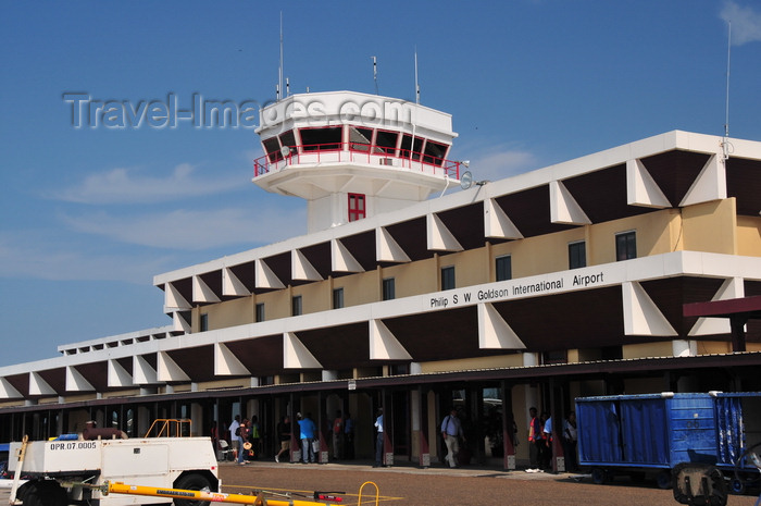 belize2: Belize City, Belize: Belize city airport - Philip S. W. Goldson International Airport - BZE - photo by M.Torres - (c) Travel-Images.com - Stock Photography agency - Image Bank