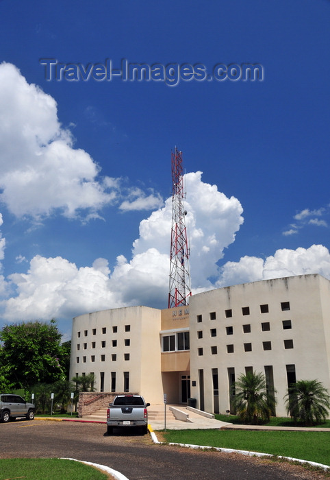 belize70: Belmopan, Cayo, Belize: NEMO HQ - National Emergency Management Organization of Belize - the building also houses offices of the Ministry of Defence - photo by M.Torres - (c) Travel-Images.com - Stock Photography agency - Image Bank