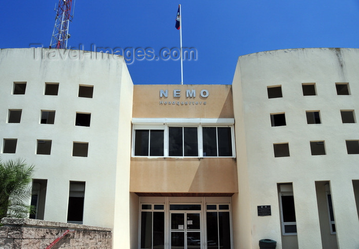 belize71: Belmopan, Cayo, Belize: entrance of the NEMO building - National Emergency Management Organization of Belize - photo by M.Torres - (c) Travel-Images.com - Stock Photography agency - Image Bank