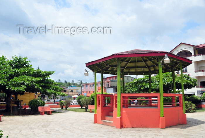 belize89: San Ignacio, Cayo, Belize: bandstand on the main square - photo by M.Torres - (c) Travel-Images.com - Stock Photography agency - Image Bank