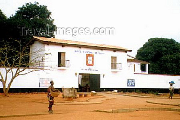 benin3: Ouidah / Oudah, Benin / Benim: the history museum - at the Portuguese fort of São João Baptista de Ajudá - photo by B.Cloutier - (c) Travel-Images.com - Stock Photography agency - Image Bank