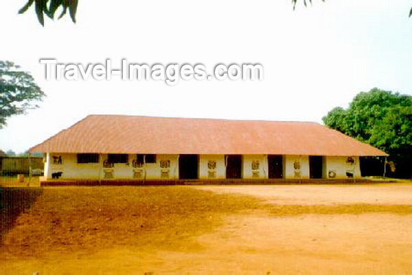 benin9: Abomey, Benin: in the Royal Compound - Unesco world heritage site - photo by B.Cloutier - (c) Travel-Images.com - Stock Photography agency - Image Bank
