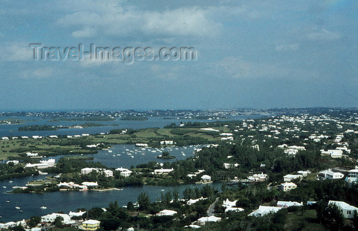 bermuda6: Bermuda - the island seen from the lighthouse - photo by G.Frysinger - (c) Travel-Images.com - Stock Photography agency - Image Bank