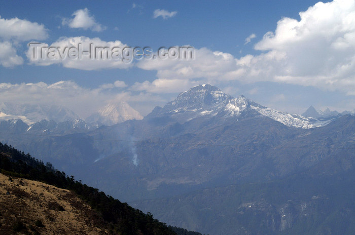 bhutan168: Bhutan - Himalaya peaks, seen from Chela La - photo by A.Ferrari - (c) Travel-Images.com - Stock Photography agency - Image Bank