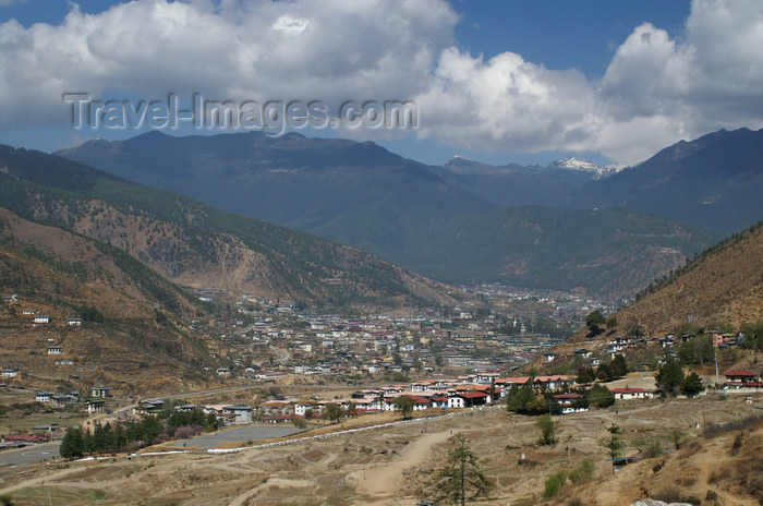 bhutan169: Bhutan - Thimphu - the city and the valley - photo by A.Ferrari - (c) Travel-Images.com - Stock Photography agency - Image Bank