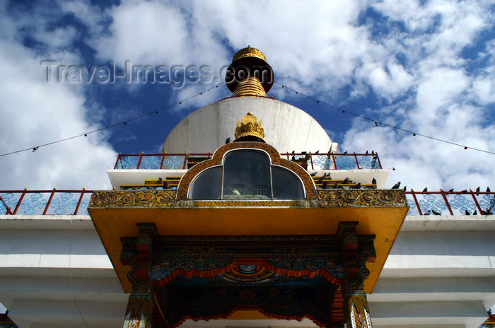 bhutan192: Bhutan - Thimphu - below the National Memorial Chorten - photo by A.Ferrari - (c) Travel-Images.com - Stock Photography agency - Image Bank
