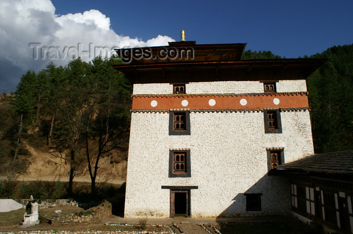 bhutan208: Bhutan - Pangri Zampa, near Thimphu - photo by A.Ferrari - (c) Travel-Images.com - Stock Photography agency - Image Bank