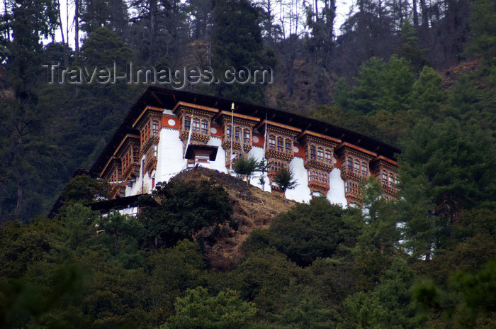 bhutan209: Bhutan - Tango Goemba - surrounded by forest - photo by A.Ferrari - (c) Travel-Images.com - Stock Photography agency - Image Bank